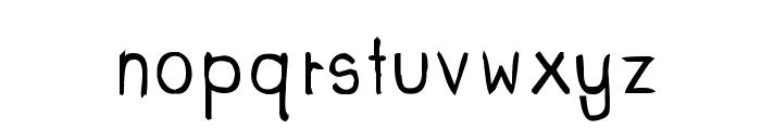 CRU-dissaramas-Hand-Written Bold Font LOWERCASE