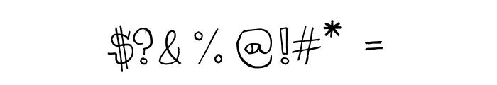 CRU-kiettipoom Font OTHER CHARS