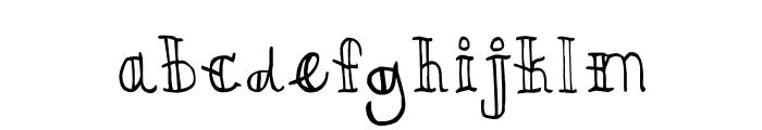 CRU-kiettipoom Font LOWERCASE