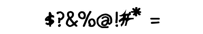CRU-pokawin-Hand-Written bold Font OTHER CHARS