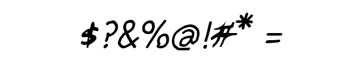 CRU-pokawin-Hand-Written italic Font OTHER CHARS