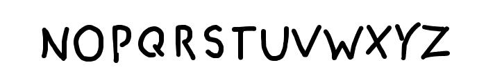 CRU-pokawin-Hand-Written Font UPPERCASE