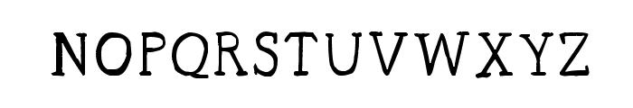 CRU-sittirong Font UPPERCASE