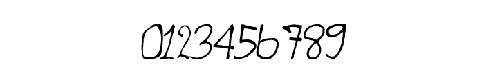 CRU-teerapong-Hand-Written Font OTHER CHARS