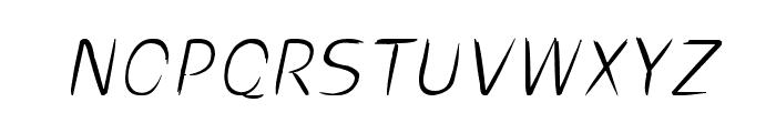 CRU-visarut New Font UPPERCASE