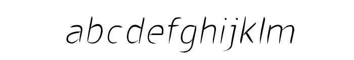 CRU-visarut New Font LOWERCASE