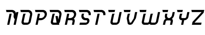 CRUMBLE Italic Font UPPERCASE