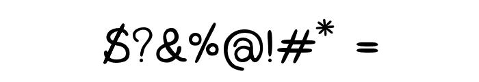 CRUPimpaveeHandWritten2 Font OTHER CHARS