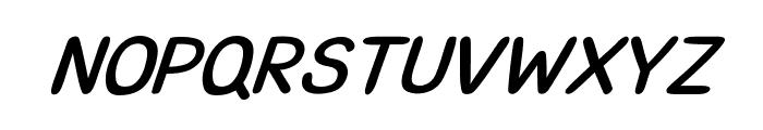 CRUPimpaveeHandWritten2BoldItalic Font UPPERCASE