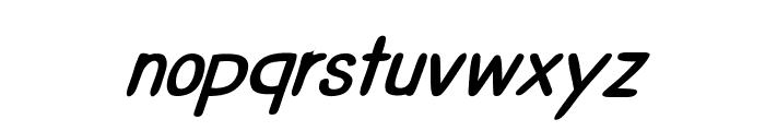 CRUPimpaveeHandWritten2BoldItalic Font LOWERCASE