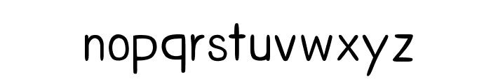 CRUPimpaveeHandWritten2 Font LOWERCASE