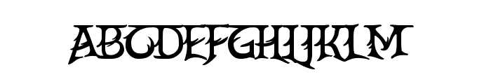 CrEAtoR cAmpoTYPe SmcP Font LOWERCASE