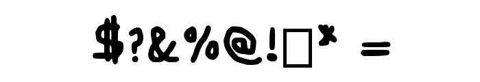 Craaig Medium Font OTHER CHARS