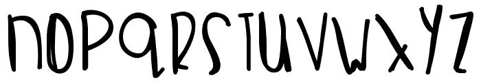 CrabSalad Font UPPERCASE