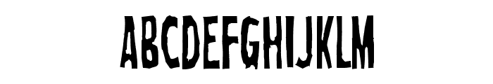 Crab Font LOWERCASE