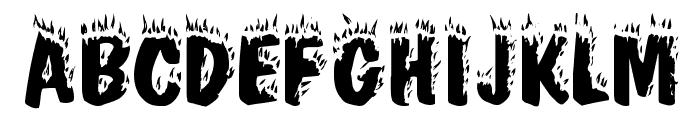 CrackFir Font UPPERCASE