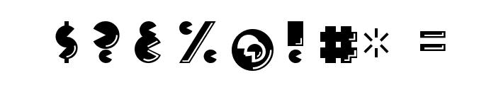 CrackManFront-Regular Font OTHER CHARS