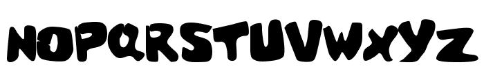 Cracked Brain Font UPPERCASE