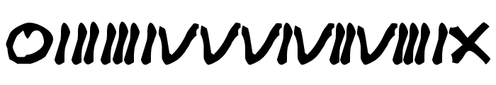 Cracked Johnnie Font OTHER CHARS