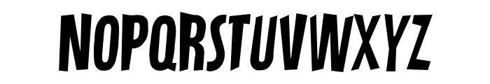 Cracker State Regular Font UPPERCASE