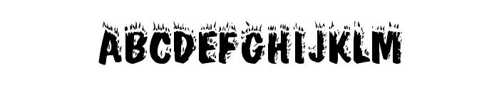 Crackling Plain Font LOWERCASE