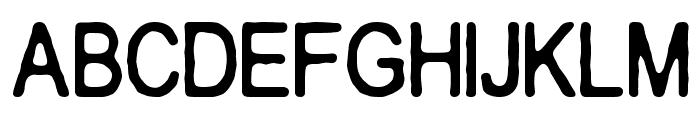 Crakos Font LOWERCASE