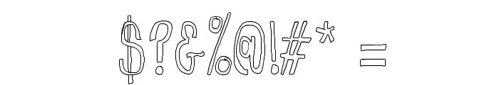 CranberryBog Font OTHER CHARS