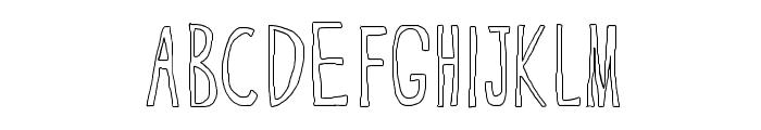 CranberryBog Font UPPERCASE