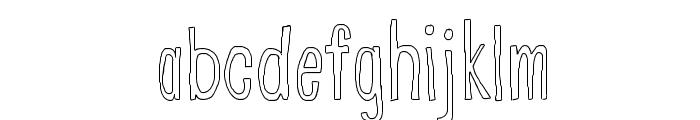 CranberryBog Font LOWERCASE