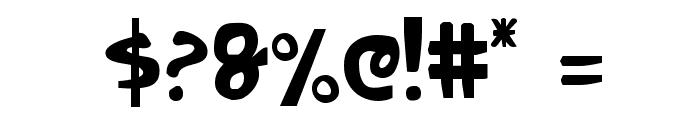 Crappity-Crap-Crap Cond Font OTHER CHARS