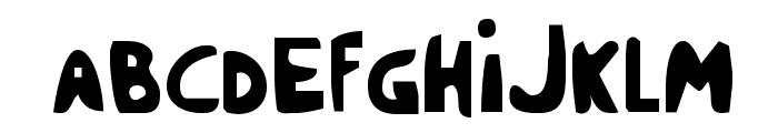 Crappity-Crap-Crap Cond Font UPPERCASE