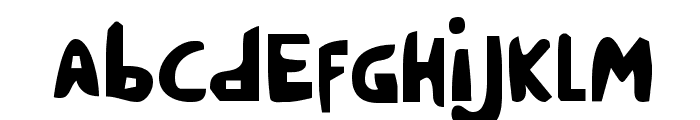 Crappity-Crap-Crap Cond Font LOWERCASE