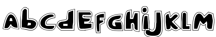 Crappity-Crap-Crap Pro Font LOWERCASE