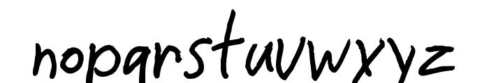 CrappyDan Font LOWERCASE