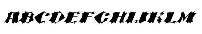 Crash Bold Font UPPERCASE