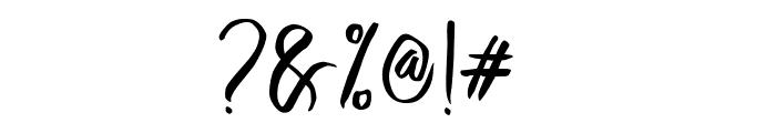 Crash One Font OTHER CHARS