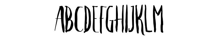 Crash One Font UPPERCASE