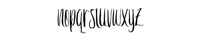 Crash One Font LOWERCASE
