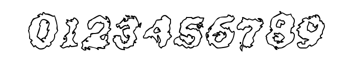 Crash Outline Font OTHER CHARS
