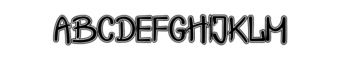 Crash  Test Shadow Font LOWERCASE