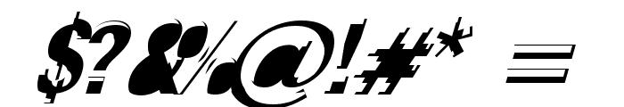 Crash Font OTHER CHARS