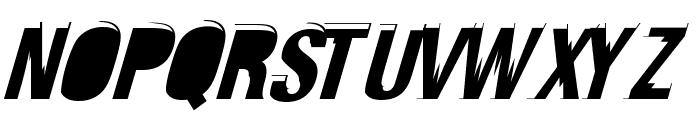 Crash Font UPPERCASE