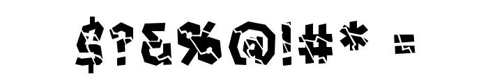 CrashcourseBB Font OTHER CHARS