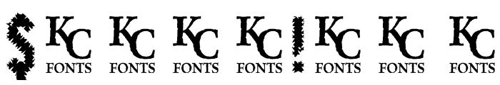 CrashedOutDemo Font OTHER CHARS