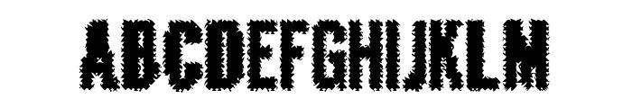 CrashedOutDemo Font LOWERCASE