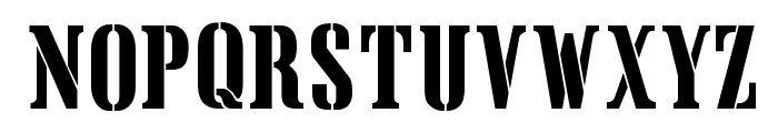 Crate Font LOWERCASE