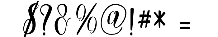 Cratti free Font OTHER CHARS