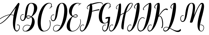 Cratti free Font UPPERCASE