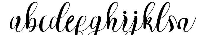 Cratti free Font LOWERCASE