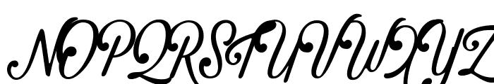 Crawley Font UPPERCASE